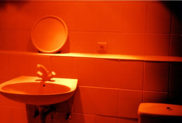 P) badkamer gedeeld door twee