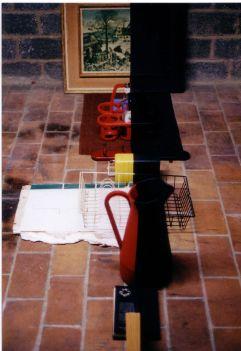 Objectenrij gedeeld door twee, 2003